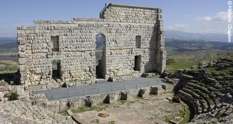 Roman theatre, Acinipo. © Michelle Chaplow
