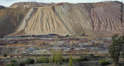 Image result for ancient copper mine spain