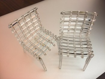 SketchChair acrylic chair models