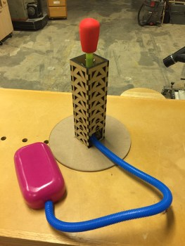 Stomp Rocket with a beefy launch tower