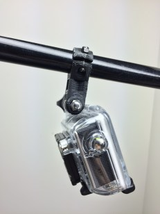 The nut-side of the GoPro mount.