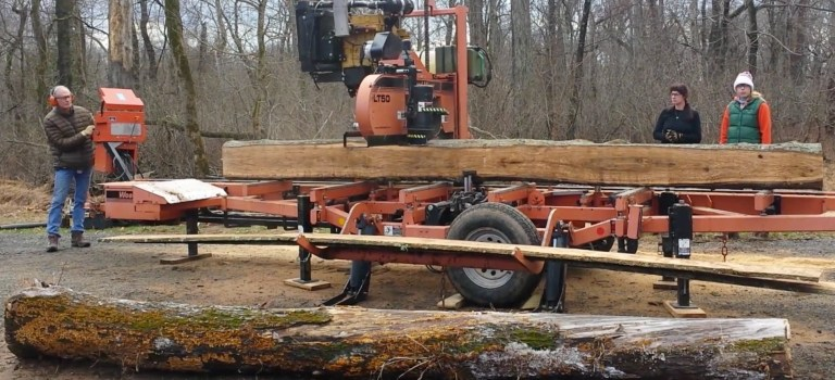 Wood milling demo (video)