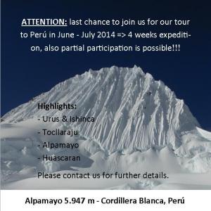 expedition Peru