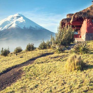 Mountain lodge Cotopaxi Tambopaxi Hacienda haciendas ecuador