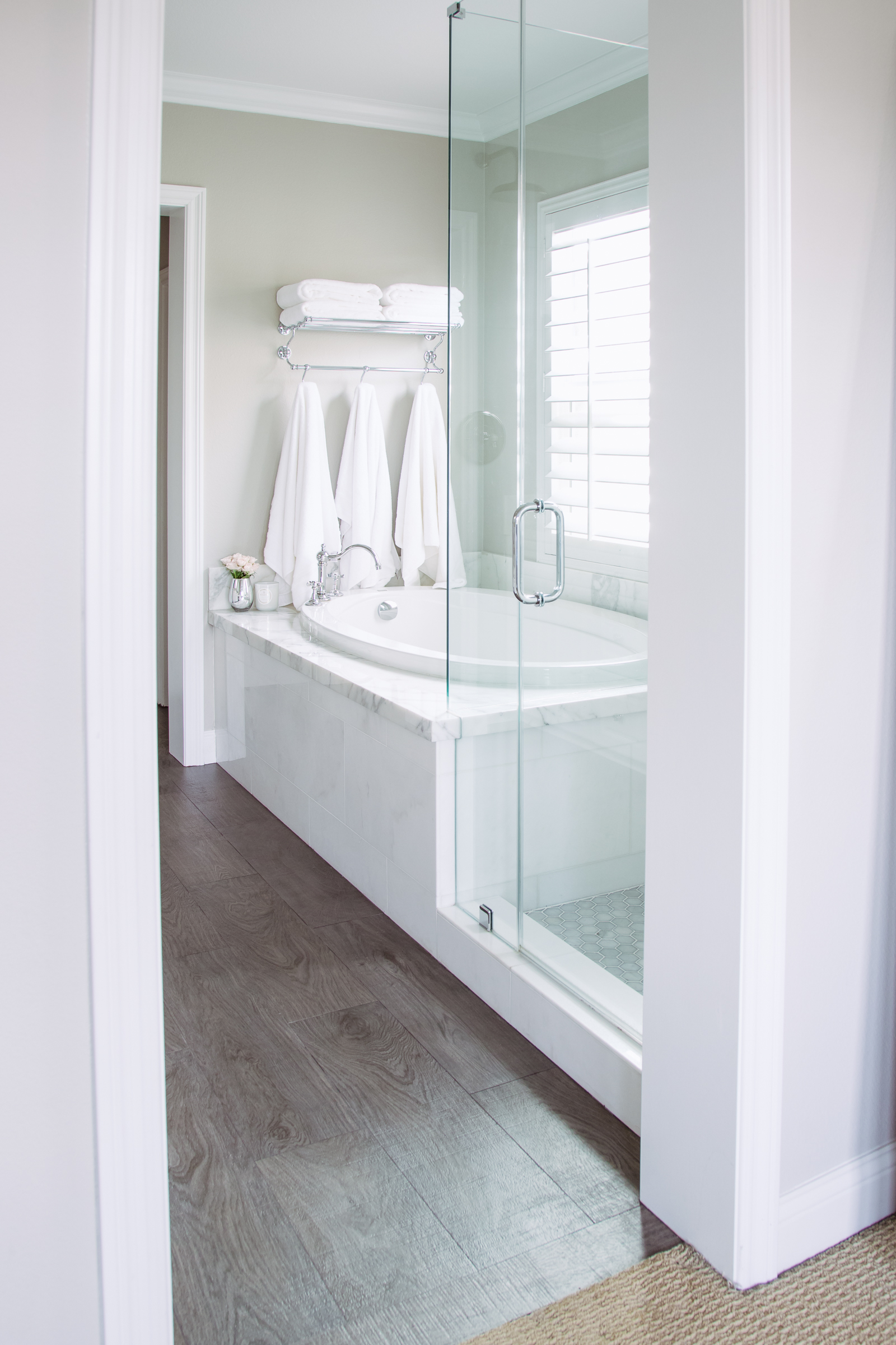 Our Finished Master Bathroom Remodel - Andee Layne on Master Bathroom Remodel Ideas  id=11405