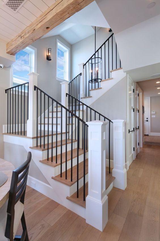 The enduring good looks of hardwood flooring. Honeybee Home // Our Modern Farmhouse - Andee Layne