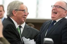 Juncker en Timmermans