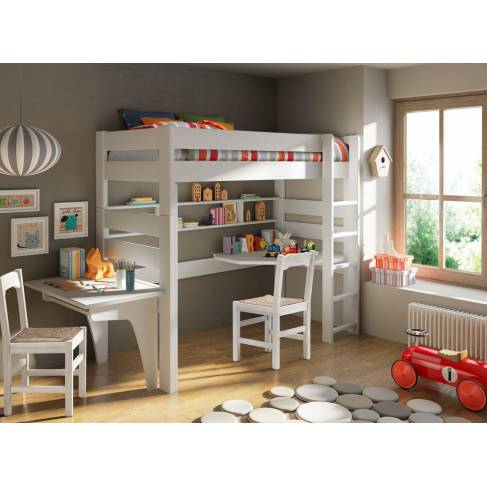 lit mezzanine city transformable hauteur 186 cm ou 209 cm