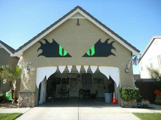 Halloween Garage Door  Decor