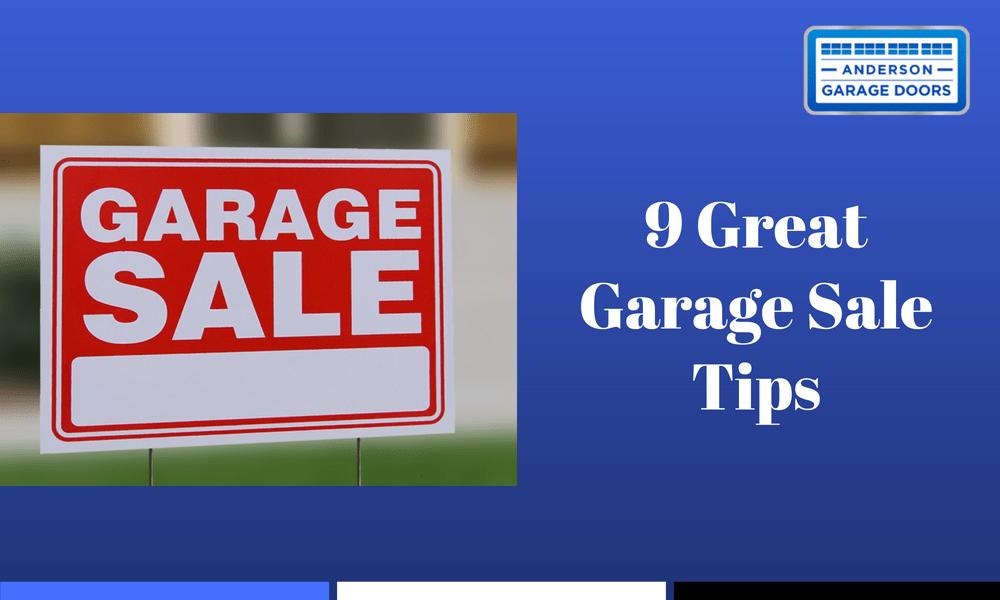 9 Great Garage Sale Tips