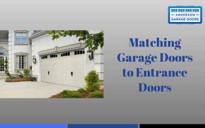Matching Garage Doors to Entrance Doors