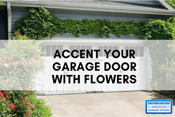 Accent Your Garage Door With Flowers