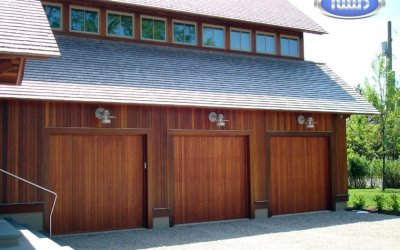 Real Wood  Garage Doors