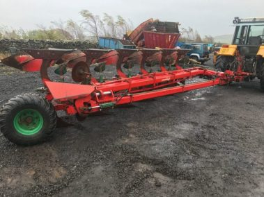 Kverneland 6 furrow semi mounted PB plough