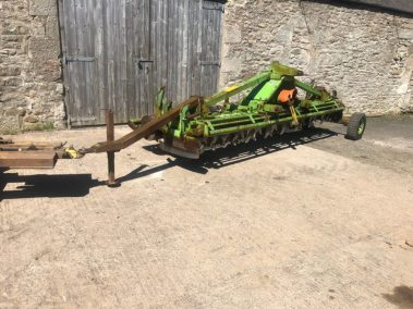 Dowdeswell DPH 400 . 4 m power Harrow