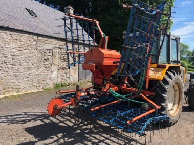 opico harrow. Seeder