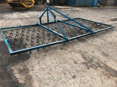 mounted chain harrows