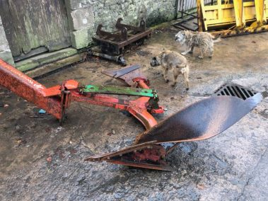 kvernelnand plough leg