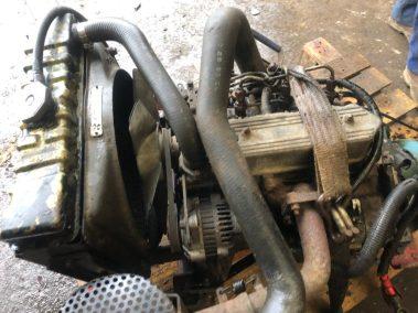 Perkins engine toro mower