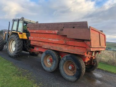 McCauley 14 ton dump trailer