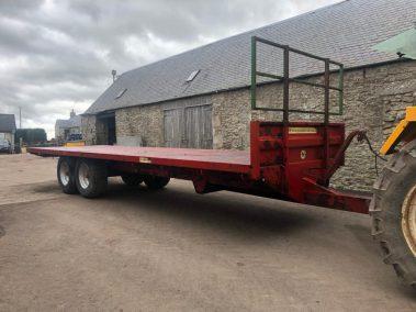 marshall bale trailer