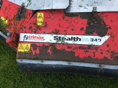 Trimax Stealth mower