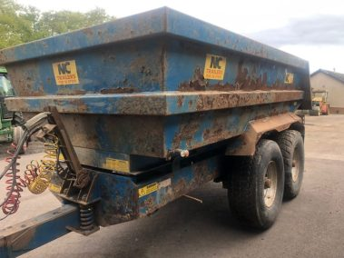 NC Dumptrailer 16 ton on air