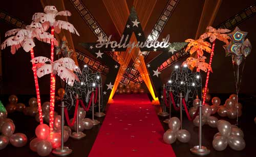 How To Create A Glam Hollywood Prom Theme Andersons Blog
