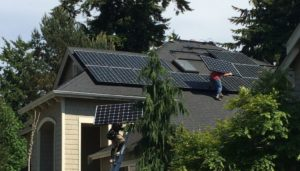 Solar going up on our home in the PacNW