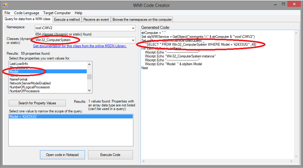 WMI Code Creator - Tips from a Microsoft Certified IT Pro