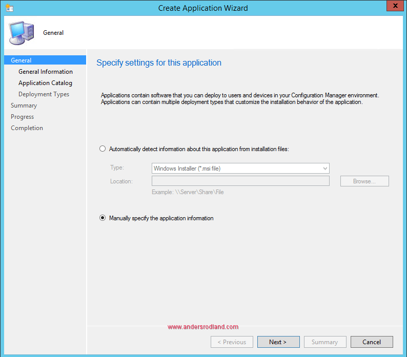 Deploy Windows Management Framework with SCCM - Step 1