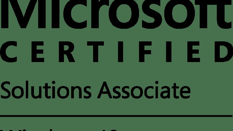 MCSA Windows 10 Certification