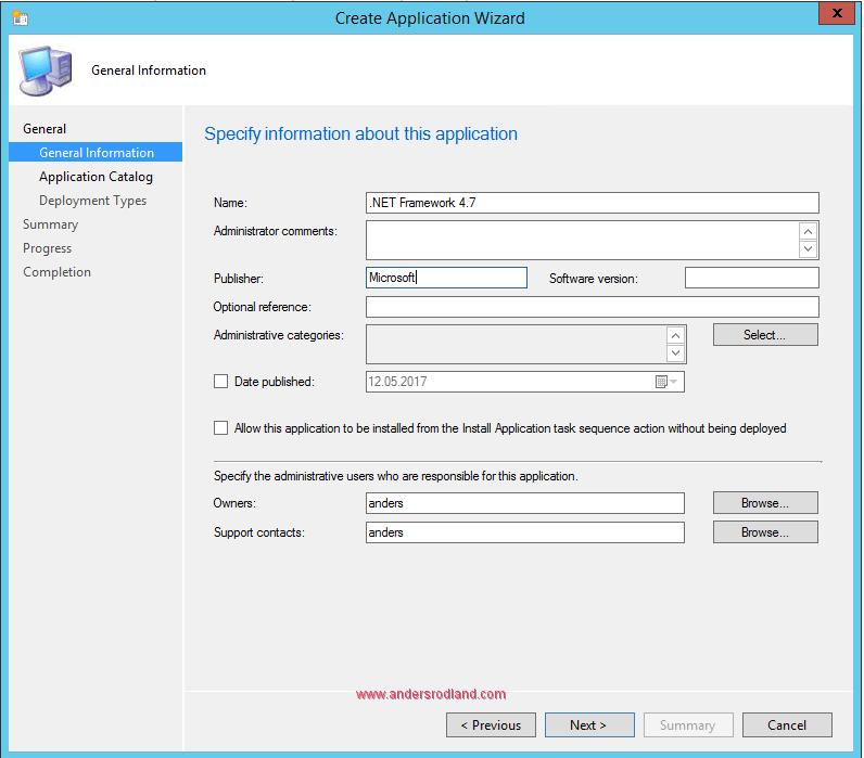 Deploy .NET Framework 4.7