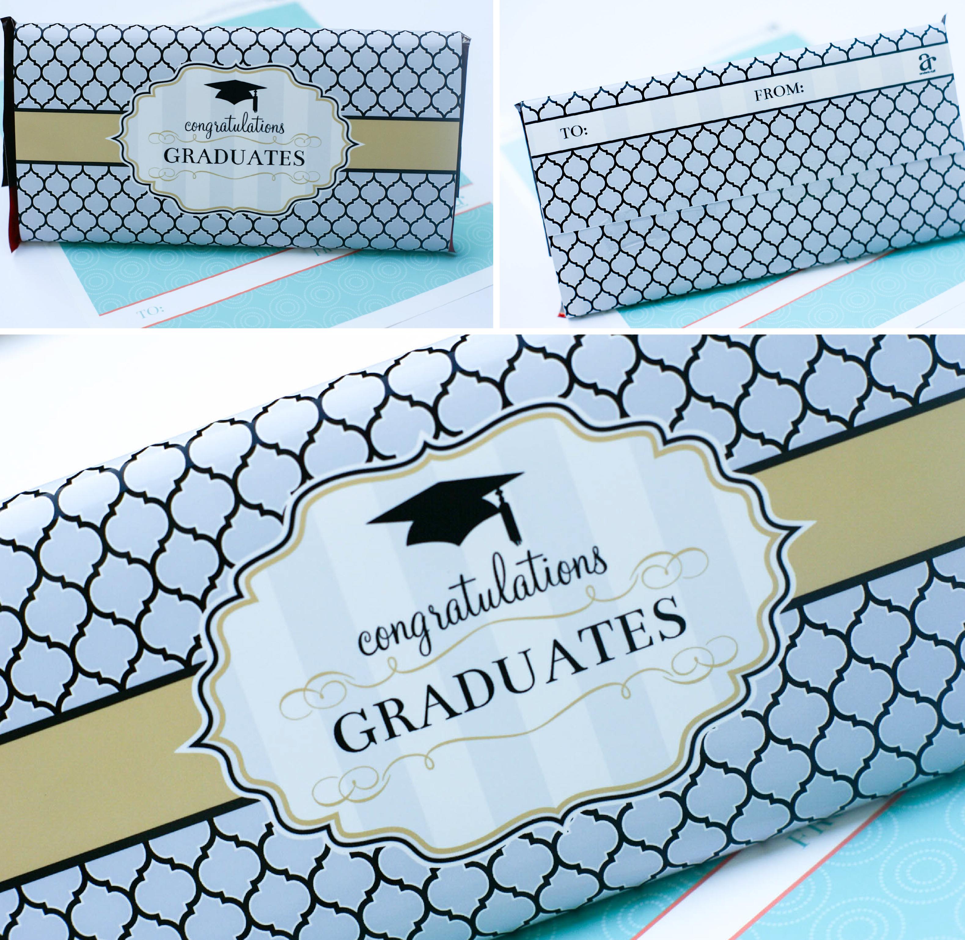 Ruff Draft Free Printable Graduation Giant Chocolate Bar
