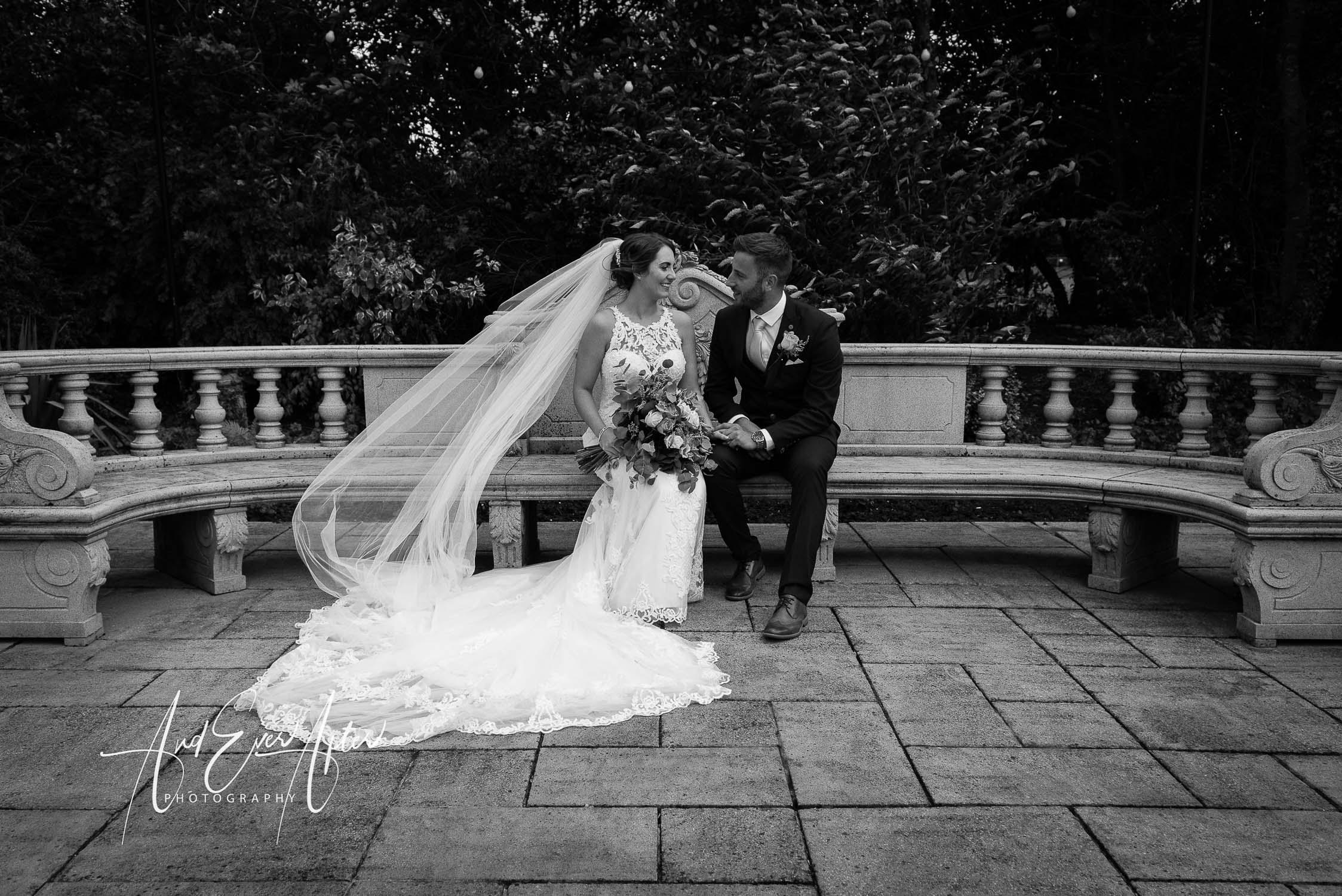 Ramside Hall Wedding, Bride and Groom