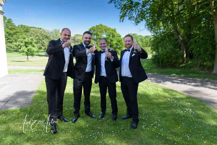 groomsmen, best man