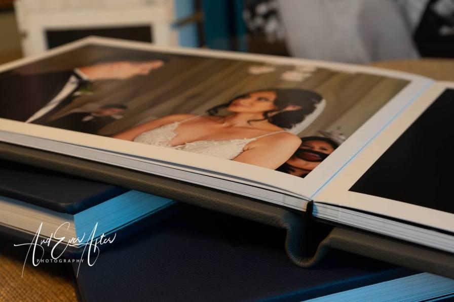 Luxury wedding album - photograph album