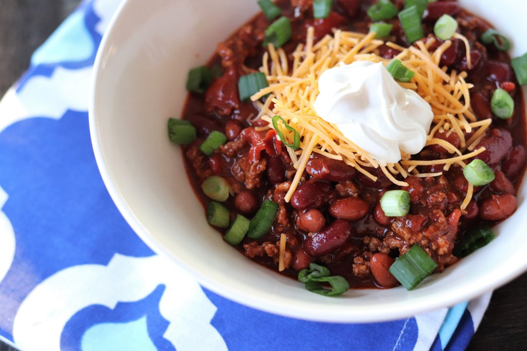 Easy Fire Roasted Chili