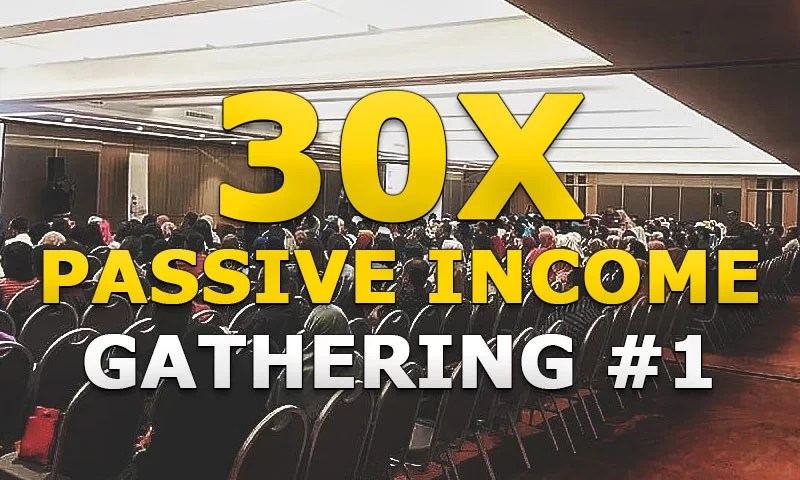 Report Event: 30X Passive Income Gathering #1 – Jakarta