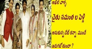 Chaithanya Sam Marriage Preponed Due to Akhil Engagement Cancellation
