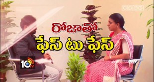 Face to Face with YCP MLA Roja