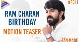 Ram Charan Birthday Motion Teaser