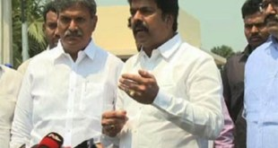 TDP MLA and MP's high drama ended up with apologies
