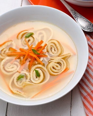 Cooking with my soul - Flaedlesuppe