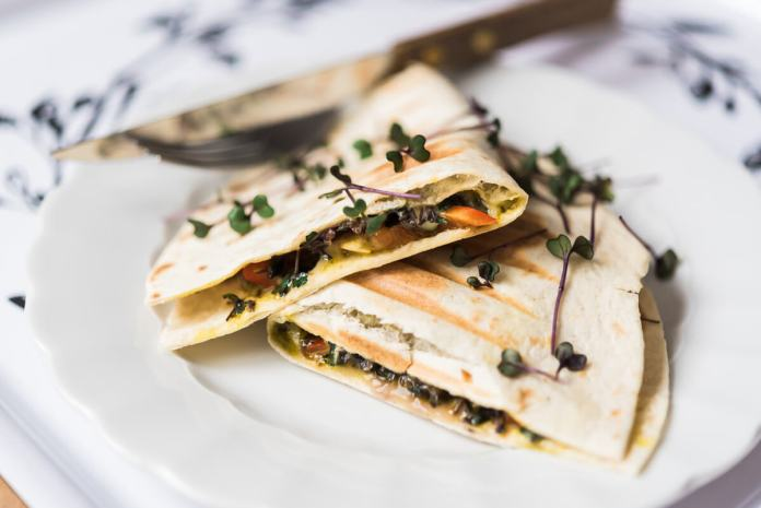 quesadillas vegetariene