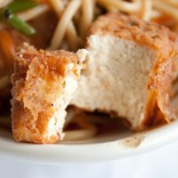 Crispy Battered and Fried Tofu