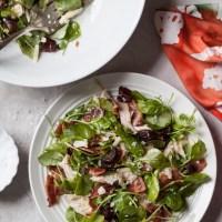 Chicken Bacon Cheddar Salad with Medjool Dates