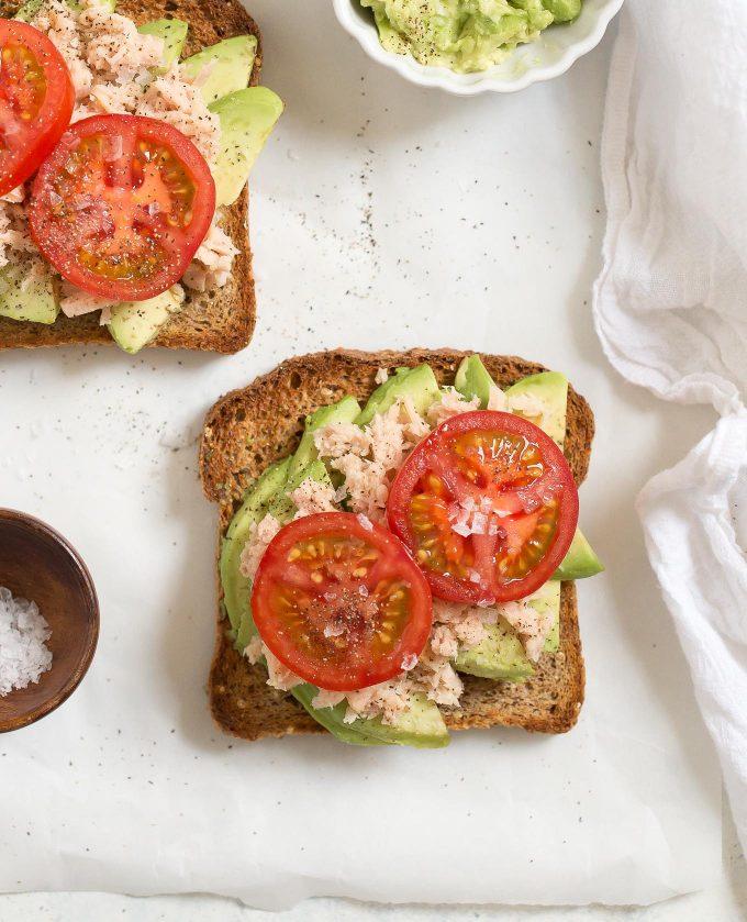 Tuna Avocado Toast