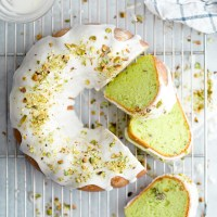 Pistachio Pudding Cake