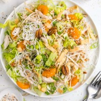Chinese Chicken Salad with Pecans
